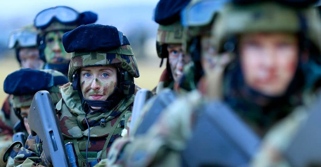 Change management and physical restructuring of the Irish Defence Forces